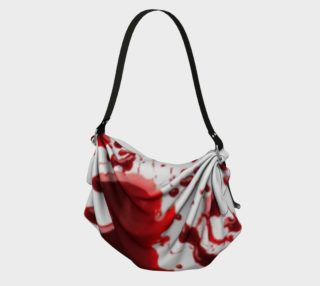 Blood Splatter three origami tote preview