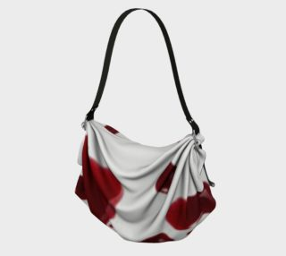 Blood Splatter four origami tote bag preview