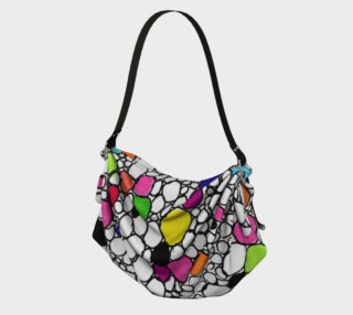 Colored Circles and  Other Shapes origami tote preview