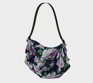 Magnolia Floral Frenzy Origami Tote preview