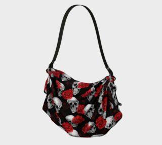 Aperçu de Skull & Roses Origami Bag