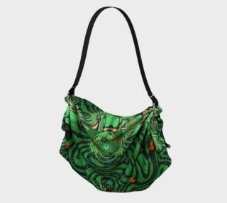 Emerald City Girl Origami Tote preview