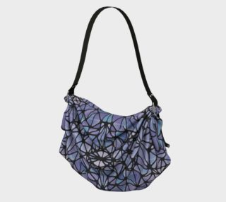 Purple and Blue Kaleidoscope Origami Tote preview