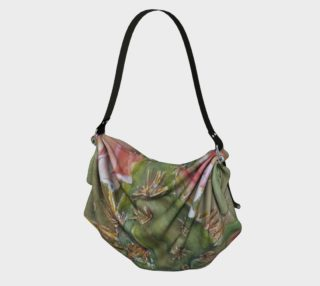 CACTUS FLOWER in WATERCOLOR Origami Bag preview