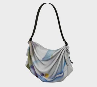 CALLA LILY in WATERCOLOR Origami Bag preview