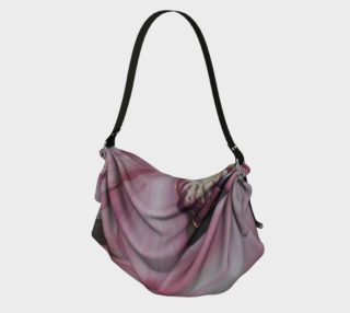 EXOTIC PINK ORCHID in WATERCOLOR Origami Bag preview