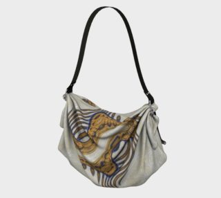 Yoga Woman Victory Symbol Origami Tote (w/lux-surface look.) preview
