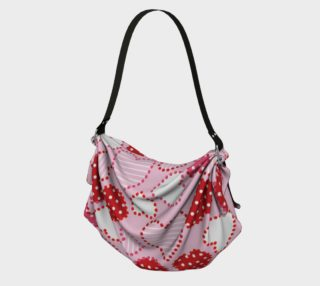 Patterned Hearts Origami Bag preview
