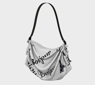 Bonjour Origami Tote preview