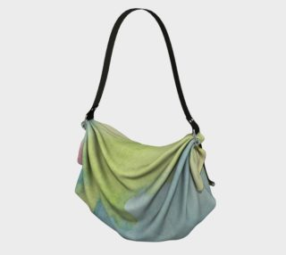 Flowers in Stained Glass Origami Tote preview