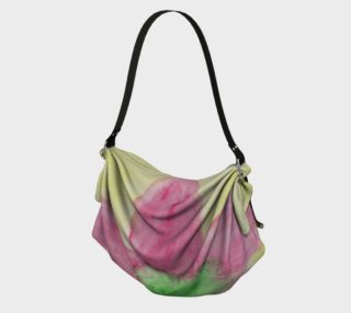 Pink Flower Blossom Origami Tote preview