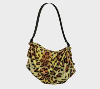Leopard fur Origami Tote preview
