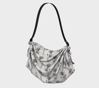 Lotus flowers pattern Origami Tote preview