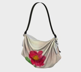 Red Daisy Origami Tote preview