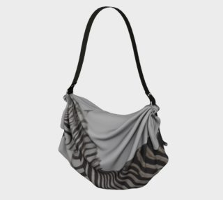 Zebra, Origami Tote preview