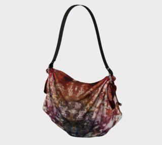 Boho Red Purple Hippie Batik Style Pattern preview