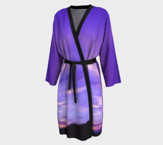 Purple Sunrise Peignoir Robe preview