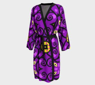 Purple and Gold Peignoir robe preview
