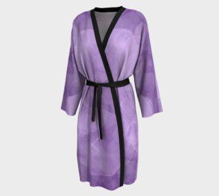 Purple Bubbles Peignoir robe preview