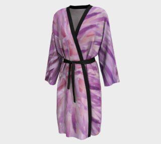 Purple Bud Explosion Peignior robe preview