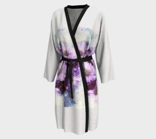 Six Purple Flowers Peignoir robe preview