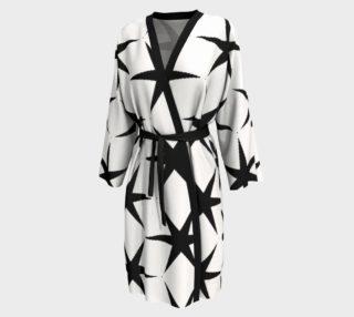 Aperçu de White with Black Stars