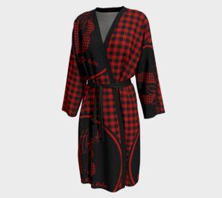 Aperçu de Attitude 13 Red Flannel Design  Peignor