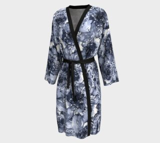 Aperçu de Navy Blue Floral Robe
