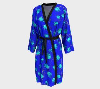 Blue Floral Pattern Peignoir preview