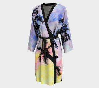 Summer Beach Palm Trees Peignoir preview