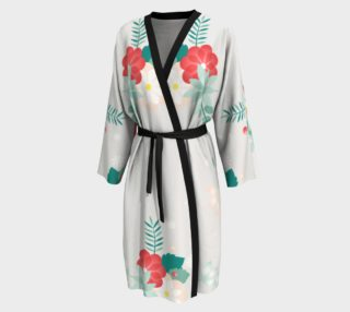 Long Floral Robe preview