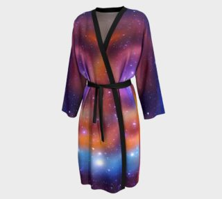 Galaxy Array of Stars and Gases Peignoir preview