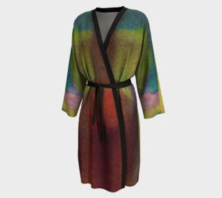Tropical Watercolor Long Robe preview