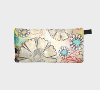 Flower Power Pencil Case by Deloresart preview