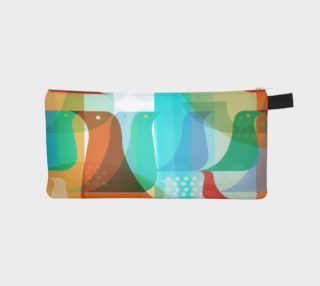 Birds of a Feather Pencil Case by Deloresart preview