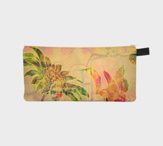 Sungold Sunflower Pencil Case by Deloresart preview