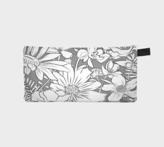 Flower Meadow Pencil Case by Deloresart preview