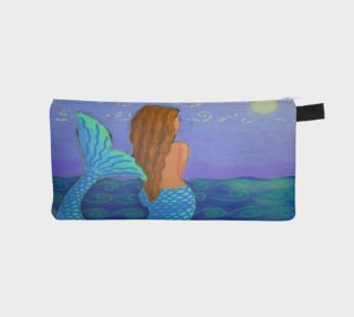 Beautiful Mermaid Abstract Art preview