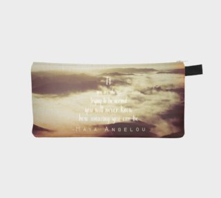 Trying to be normal - pencil case preview
