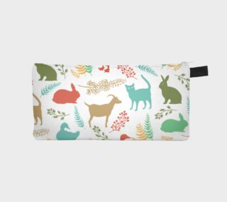 Animal silhouette - pencil case  preview