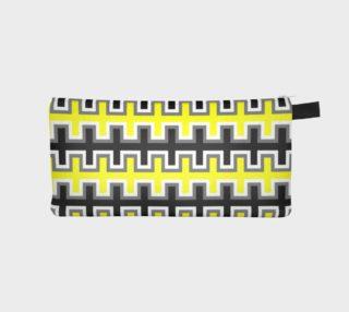 Aperçu de Black, Yellow, Grey, and White Southwest Blanket