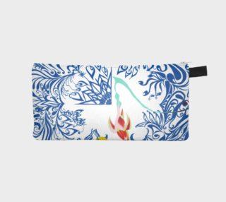 Aperçu de 2 sided flower pencil case
