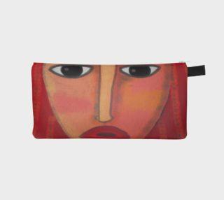 Aperçu de Big Red Lips Abstract Art