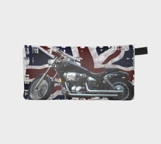 Aperçu de UK Flag & Motorcycle