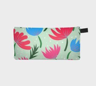 Botanical garden pencil case preview