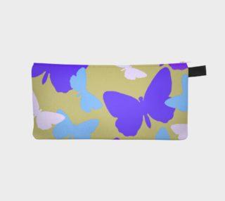 Purple Butterflies Pencil Case preview