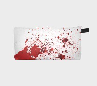 Blood Splatter First Cosplay Halloween Pencil Case preview