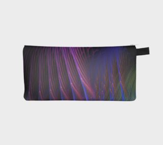 Abstract fractal feathers black preview