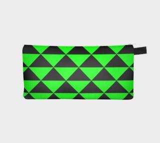 Aperçu de Black and Lime Green Triangles