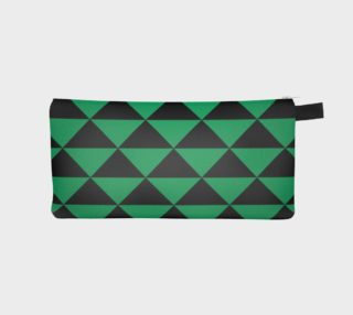 Aperçu de Black and Shamrock Green Triangles